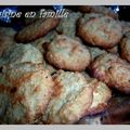 Biscuits amandes/avoine