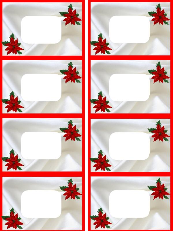 marque place rouge noël creation minouchapassion plaque
