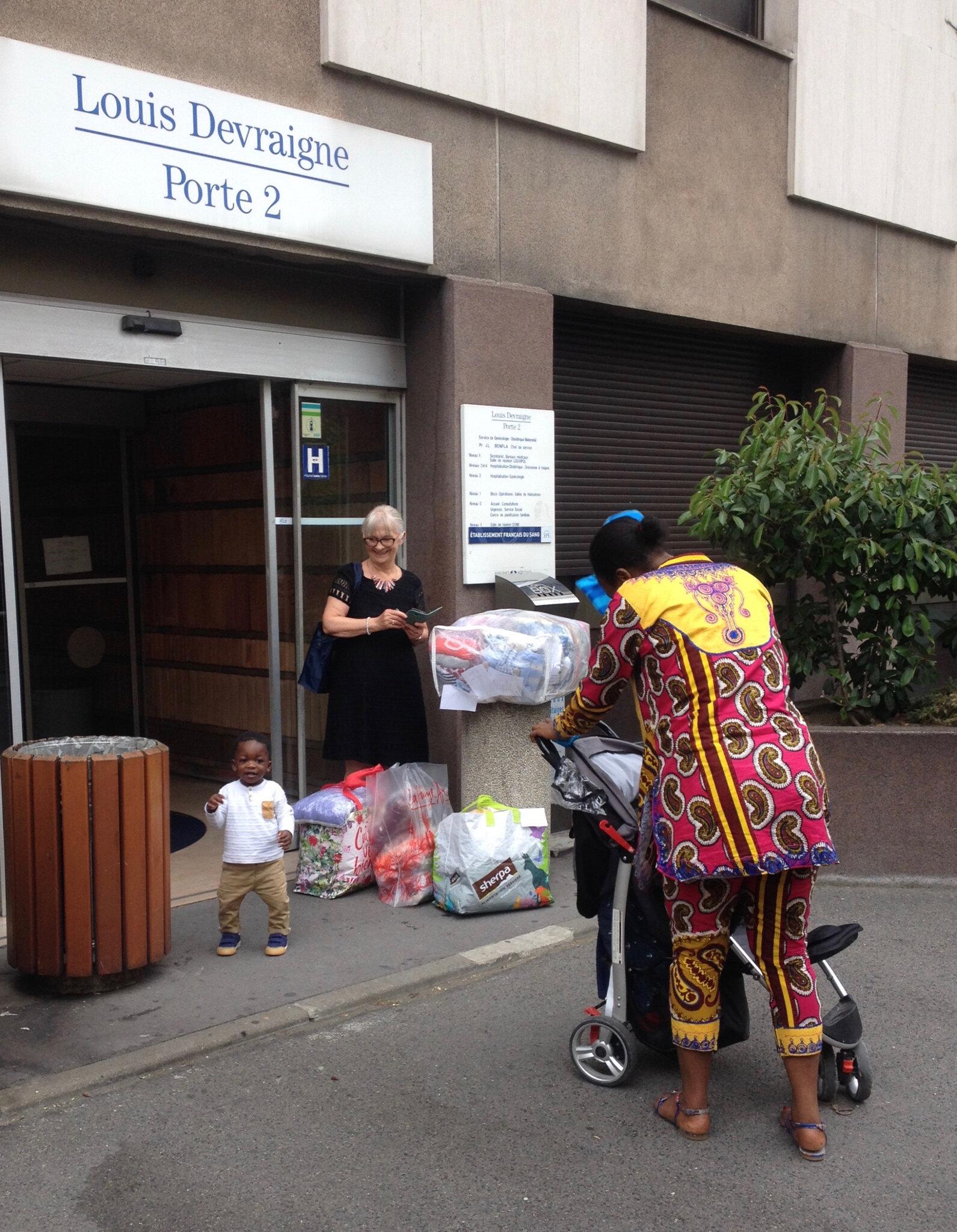 La livraison de l'hôpital Lariboisière : Une grande première !