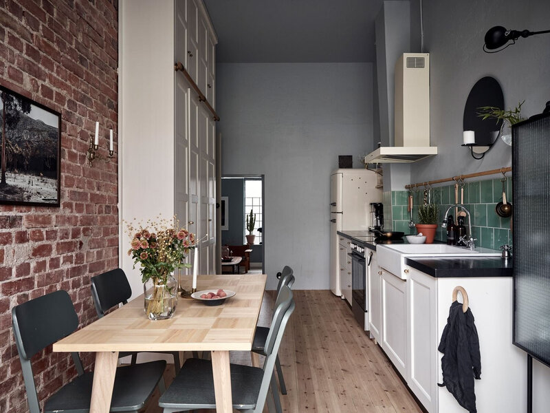 Vintage+Touches+in+a+Beautiful+Scandinavian+Home+-fdfffff+The+Nordroom