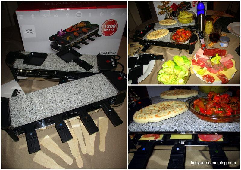 raclette klarstein - hellyane passion