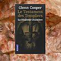 Le testament des templiers : la dixième chambre (glenn cooper)