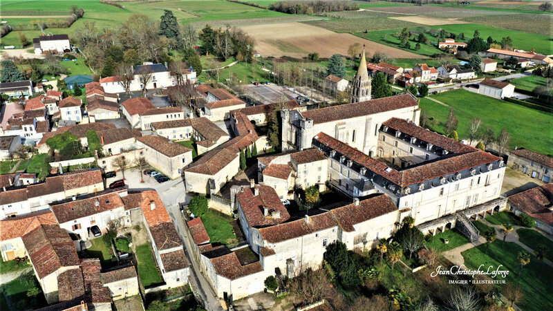 BASSAC Abbaye Charente DRONE Fev 2021 (7)