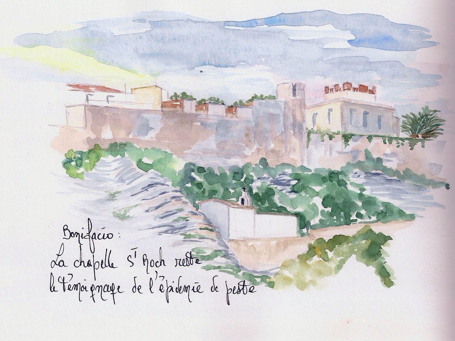 Bonifacio -Chapelle St Roch-