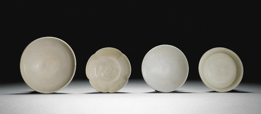 A white-glazed cup, Tang dynasty (618-907)