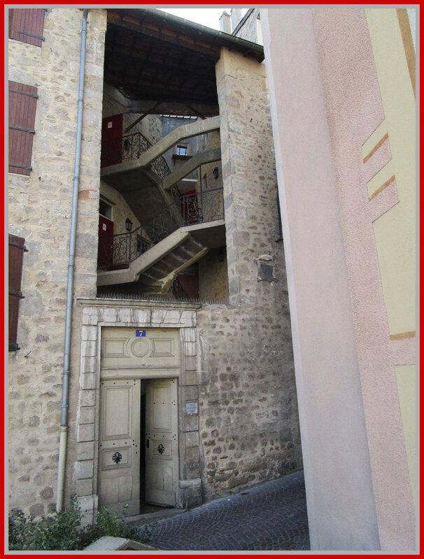 Escalier Annonay
