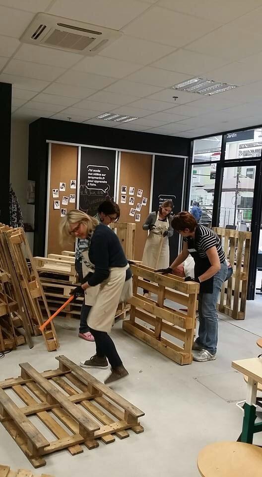Atelier Leroy Merlin Les Meubles En Palettes Decorissimo