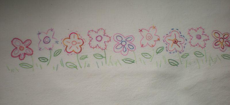 drap fleuri 003