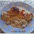 Poulet aux pêches cuisson au four (recette express)