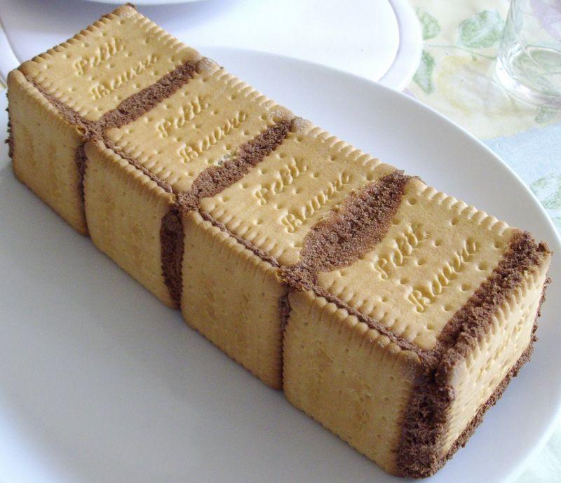 Gateau Aux Petit Beurre Et A La Mousse Au Chocolat Quand Est Ce Qu