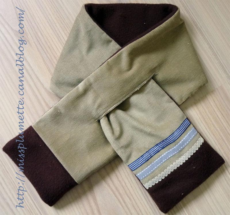 31-écharpe croisée de Miss plumette