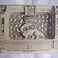 01 Blois - Fronton de la cheminée de la salle des officiers des gardes d'Henri III