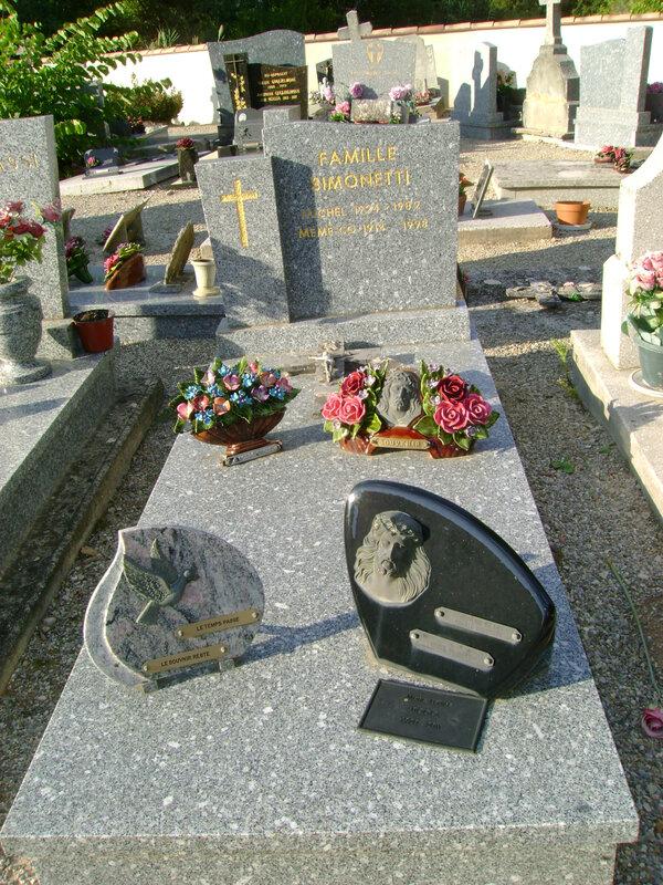 198 - Tombe de la famille Simonetti