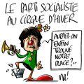 Le parti socialiste en meeting au cirque d'hiver