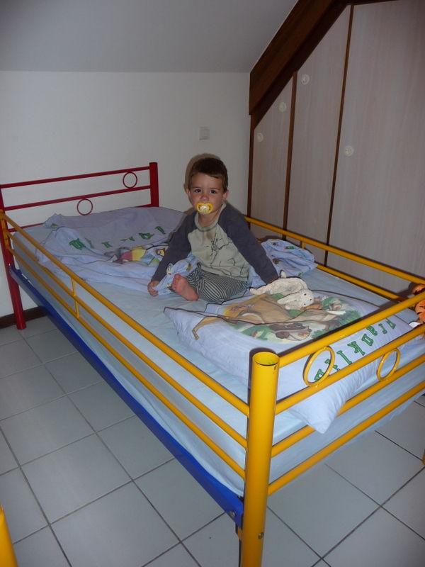 dans un grand lit c'est une première !