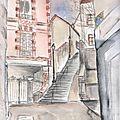Escalier de la croix bosset à sèvres (92)