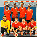 Mercredi 17 janvier - finale championnat départemental futsal garçons