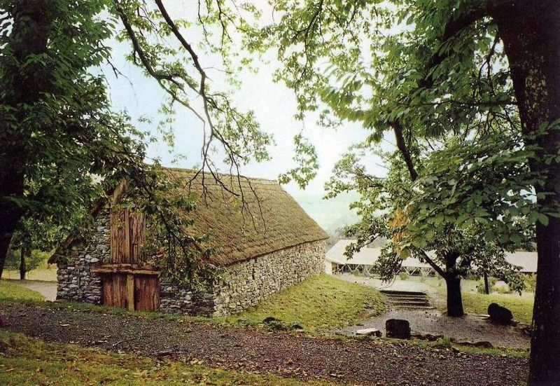 Bartrès, la grange de Sainte Bernadette