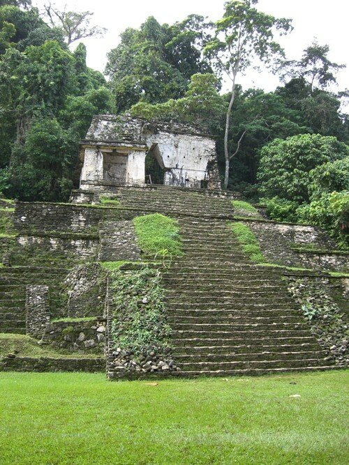 Palenque - Temple of the Skull