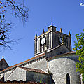 ♥ voyage au pays roman ; l'église de saint savinien (1/2) ♥
