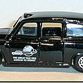 Austin FX4 London Taxi Matchbox B 03