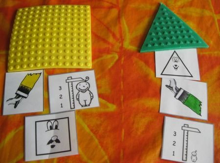 carte consigne taille couleur forme