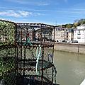 St VALERY EN CAUX. Casier de pêcheur