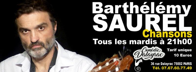Affiche Barthelemy Saurel