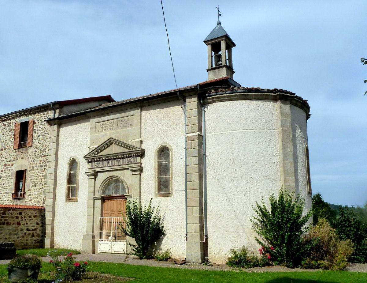 chapelle de Ste Elidie à Saint-Alyre-d'Arlanc