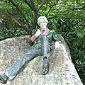 Merrion Square - Oscar Wilde statue