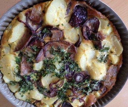 Gâteau de pommes de terre Guéméné