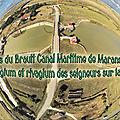 Les écluses du brault canal maritime de marans à la mer, droits pedagium et rivagium des seigneurs sur la navigation
