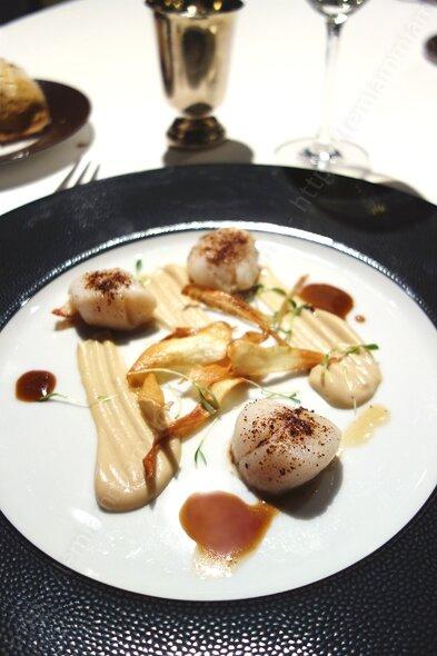 La laiterie menu repas entree 002 restaurant gastronomique 1 etoile