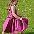 La robe froncée