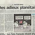 Des adieux planétaires pour michael jackson - le parisien, 7 juillet 2009