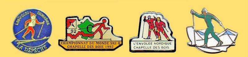 Pin's Ski de fond