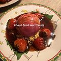 Chaud-froid de fraises