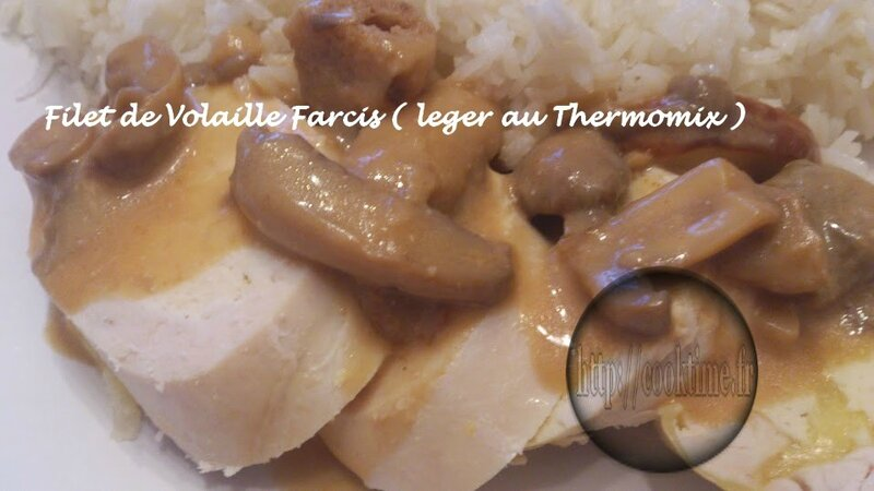 Filet de volaille farci leger thermomix 2