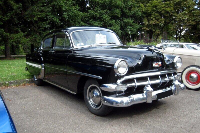 Chevrolet bel air 4door sedan de 1954 01