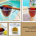 Infusion à l'artemisia annua avec du miel
