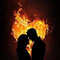 Amore, problemi cardiaci   lucchetto red magic, black magic love