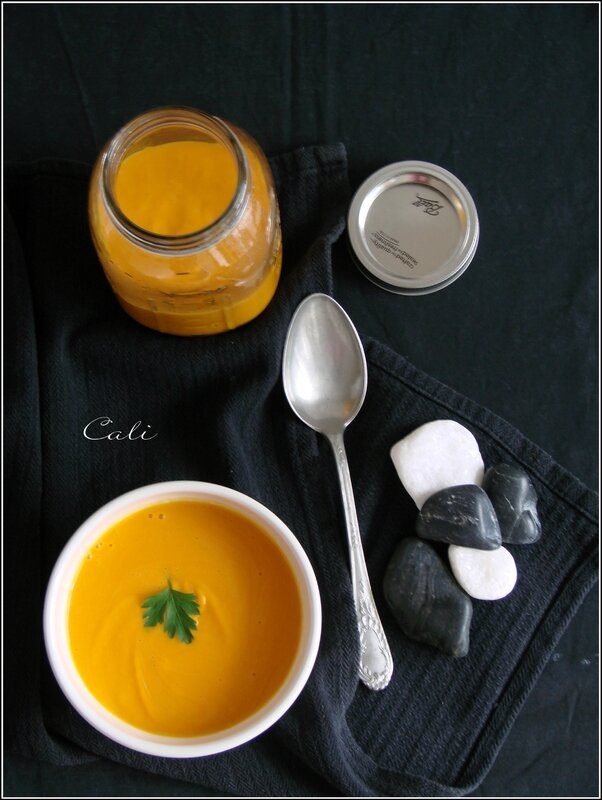 Crème de Courge au Lait de Coco (cuisson vapeur) 002
