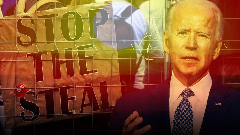 Joe Biden illegitimate president