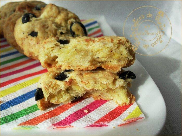 cookies feta - olives noires 3