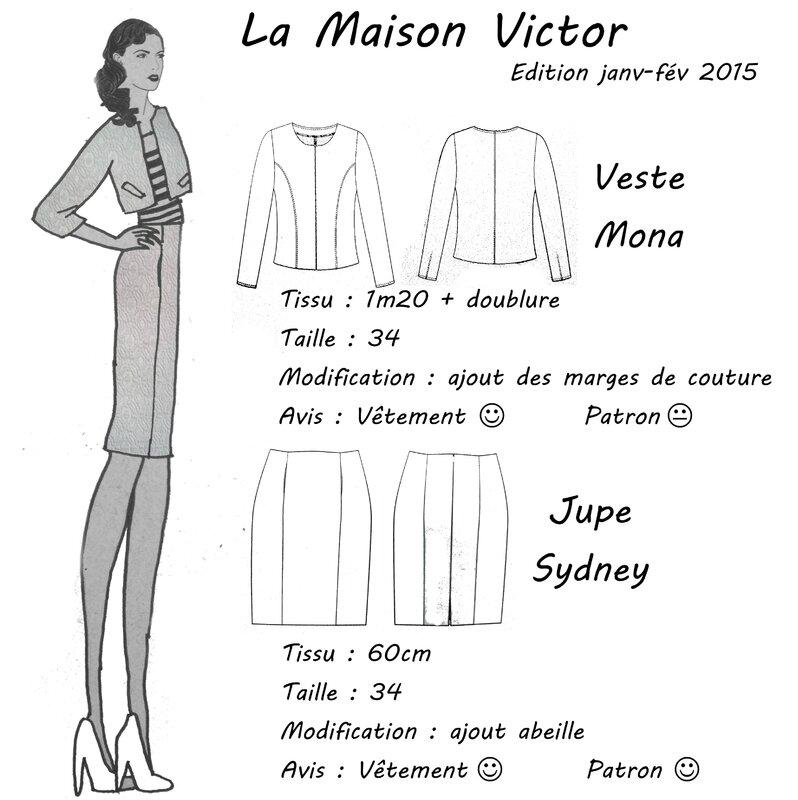 LMV - Veste Mona et Jupe Sydney