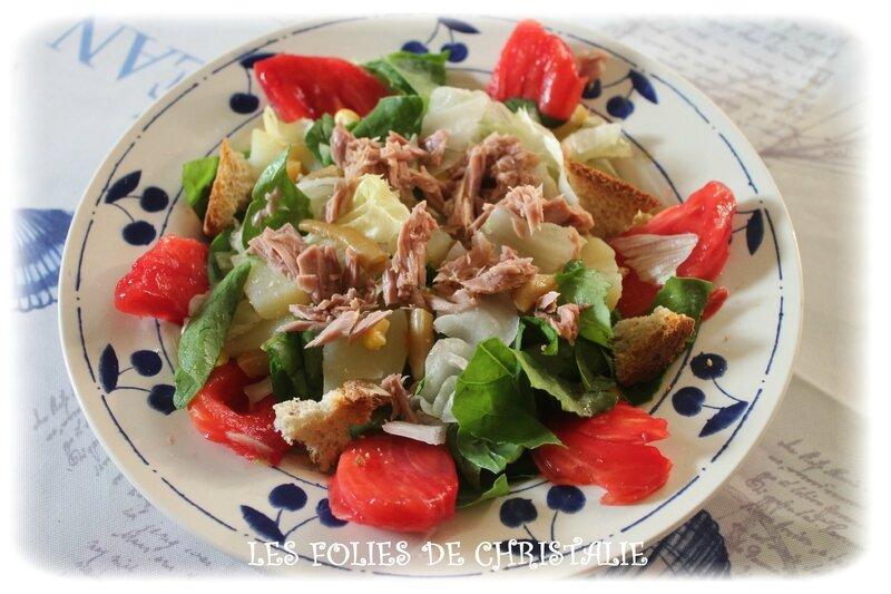 Salade épinards 2
