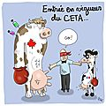 CETA-environnement- fnsea -macron liberal nicolas hulot pesitice hormone mal bouffe canada
