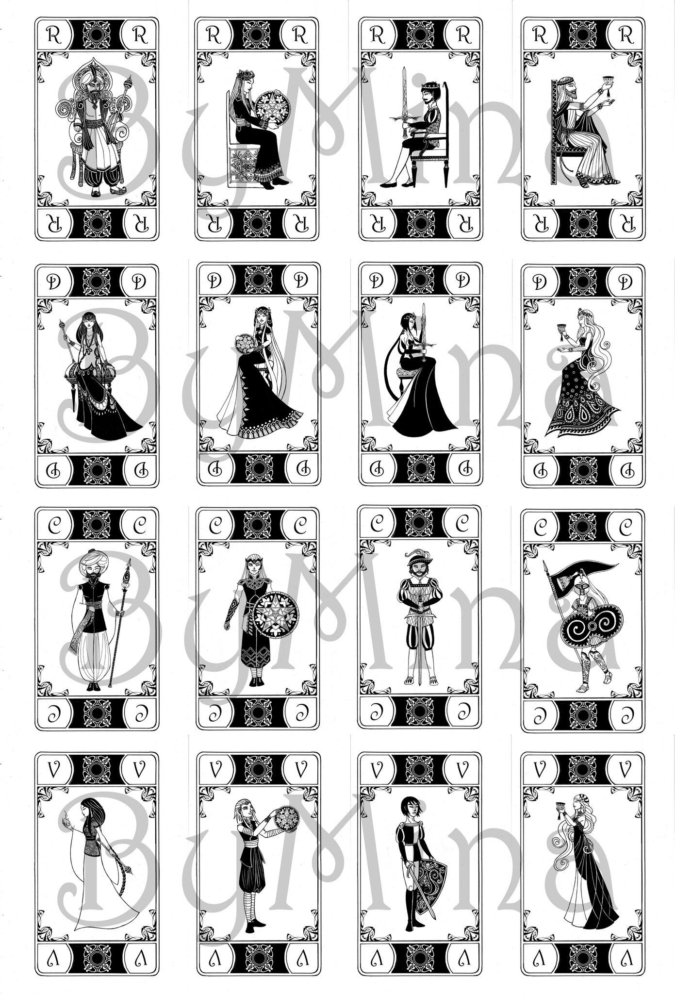 Cartes Figures