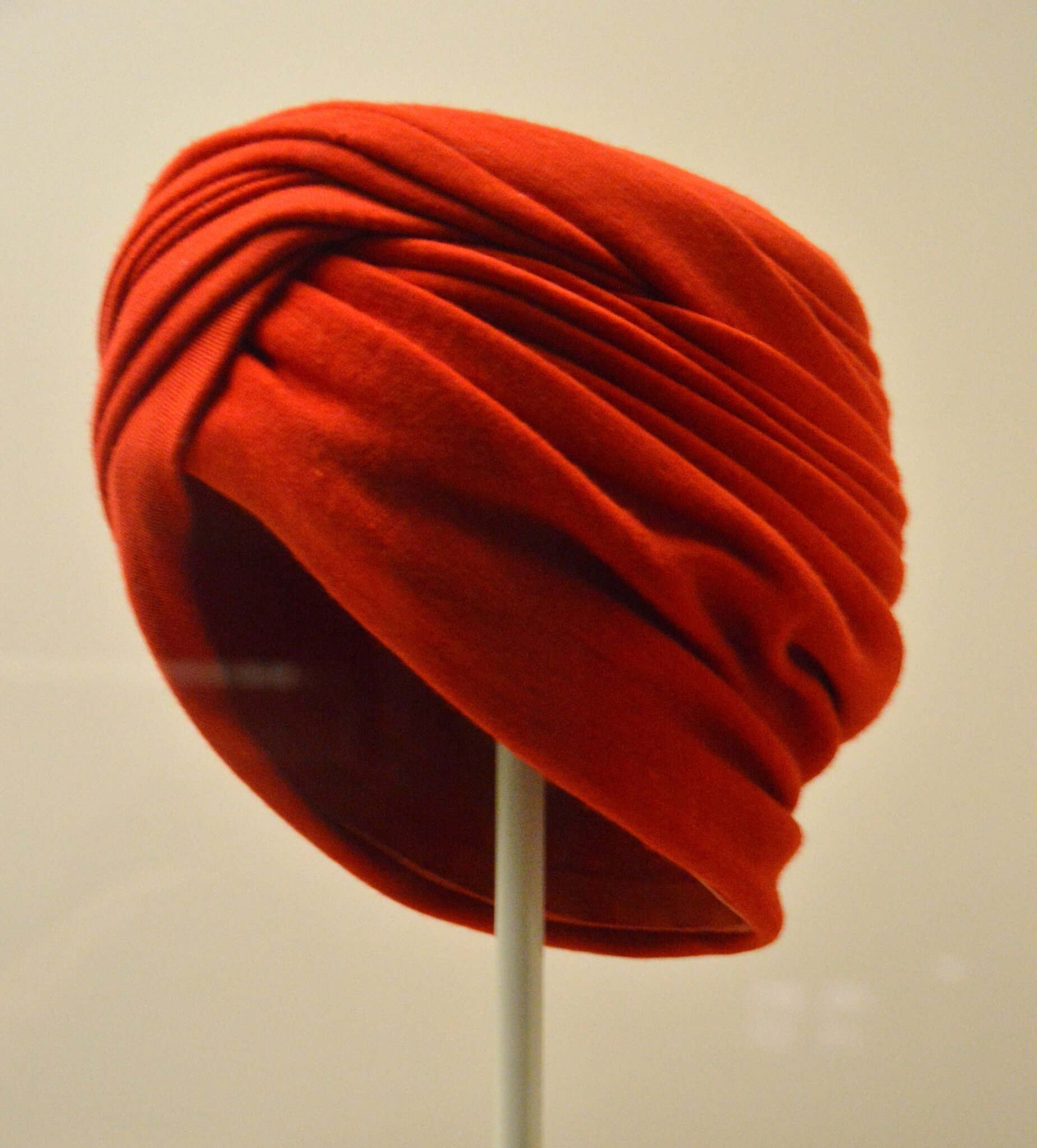 Red Turban, Cristòbal Balenciaga, Spain, about 1955
