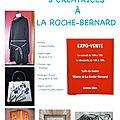 Expo artisanale, à la roche bernard (56)